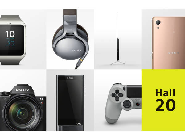 Sony At IFA 2015 Berlin: Watch Live Blog Here!