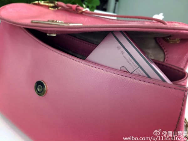 LeTV Smartphone Pink-Color Variant Leaked, Tipped For Sept 7 Launch