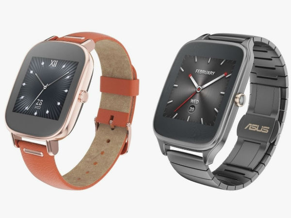 IFA 2015: Asus ZenWatch 2 Announced, Supports Android and iOS Devices