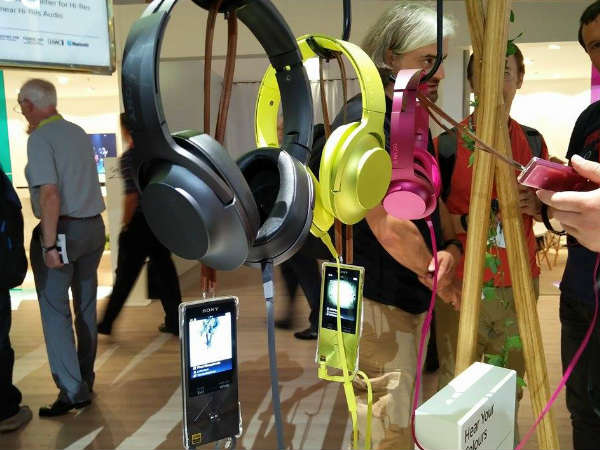 Sony beefs up the music space by launching hear headphones and Walkman