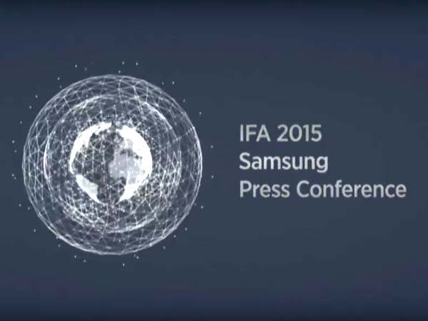 Samsung At IFA 2015: Watch Live Streaming Here