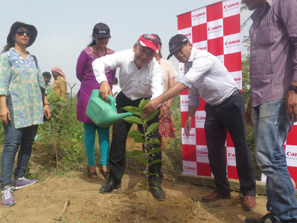 Canon Pledges to Go Green with Tree Plantation Initiative