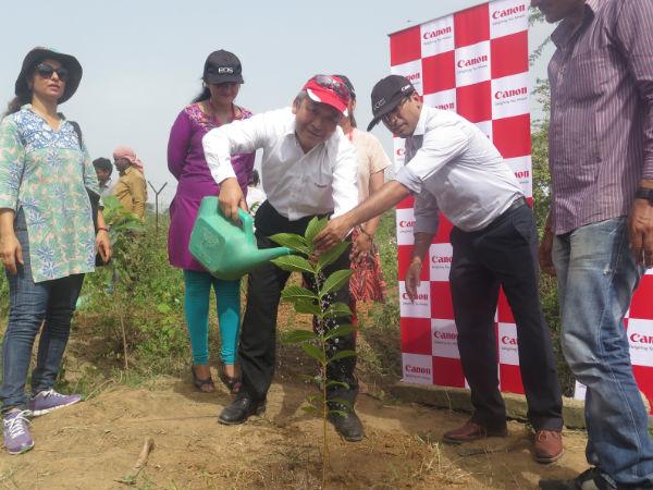 Canon Pledges to Go Green with Tree Plantation Initiative