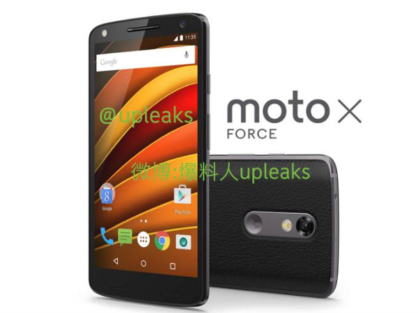 "Moto X Force is the real name of the ""Shatterproof"" Moto Bounce"