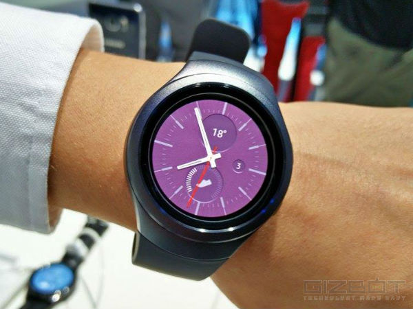 Samsung Gear S2 and S2 Classic with e-SIM and Rotatable Bezel launched