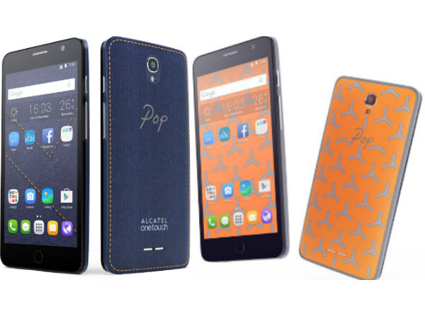 Alcatel OneTouch Pop Star 3G/4G: Specifications