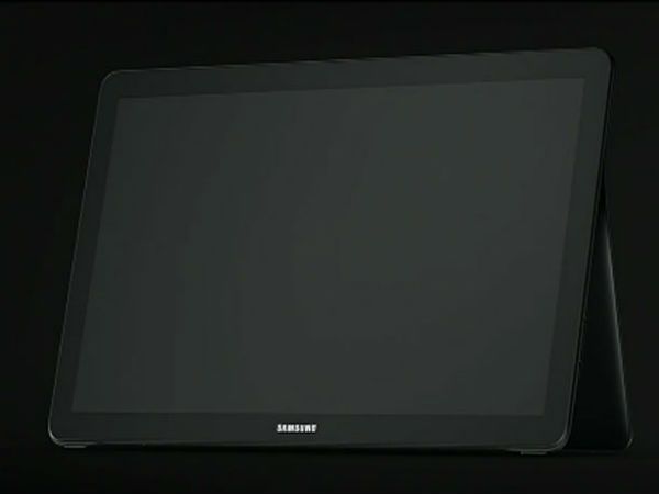 Samsung teases 'Galaxy View' hybrid tablet at IFA 2015