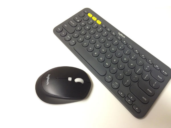 Logitech Bluetooth-Enabled Keyboard and Mouse launched