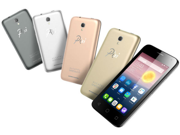 Alcatel OneTouch Pixi First smartphone unveiled at IFA'15