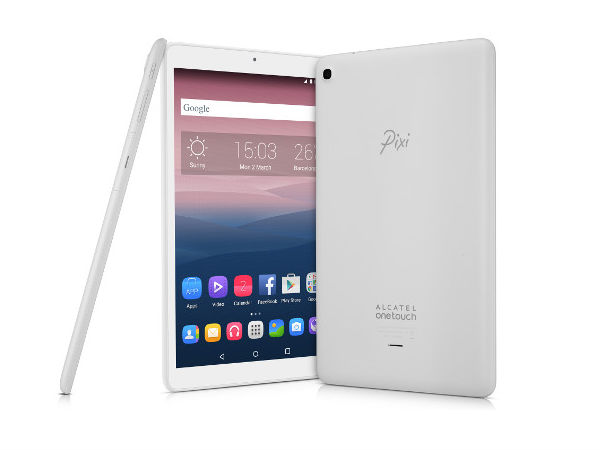 Alcatel OneTouch Launches Entry Level Pixi 3(10) Tablet