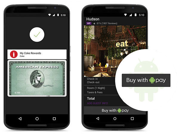 Android Pay / Apple Pay