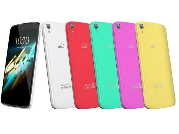 Alcatel OneTouch Idol 3C is a colourful variant of Idol 3