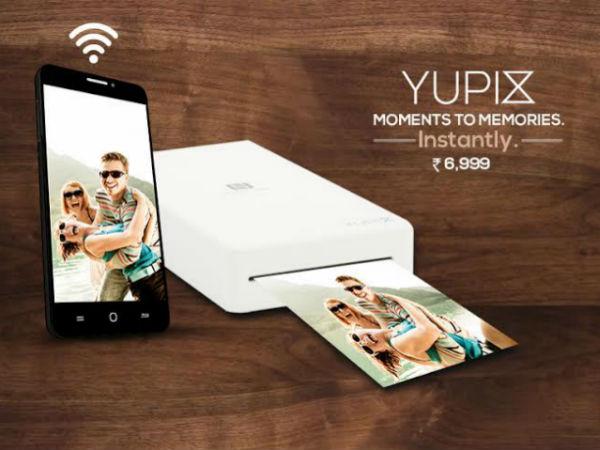 Yu YuPix portable printer launched, available on Amazon India