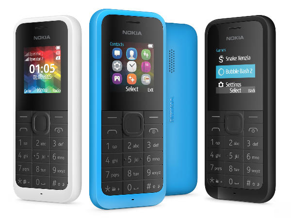 Microsoft Launched Nokia 105, Dual SIM Feature Phone For Rs 1,419