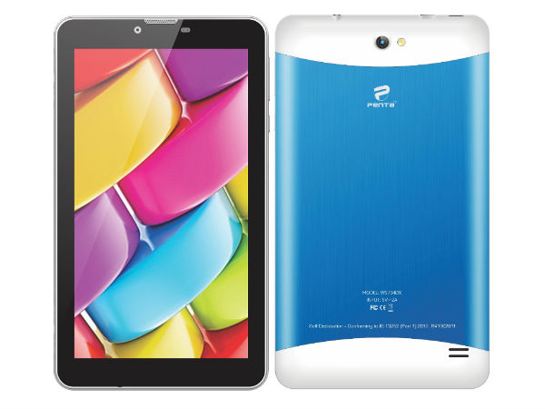 """Penta T-Pad WS704DX 7"""" Dual SIM 3G Tablet launched at Rs 4,999"""
