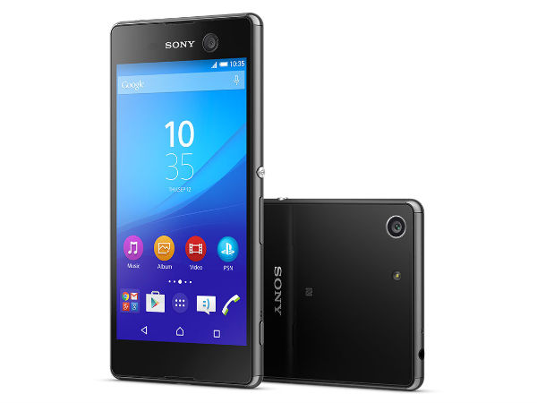 Sony Launched Xperia M5 with 21.5MP Camera, Bravia Engine 2