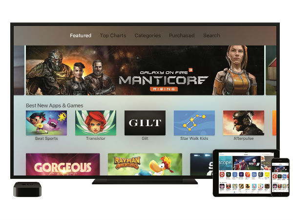 Apple TV Comes with Dedicated tvOS App Store, Siri and Touch Remote
