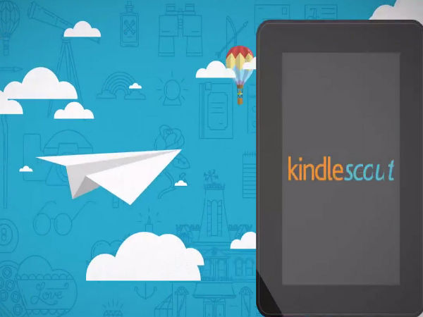 Amazon Expands Kindle Scout Publishing Platform Internationally