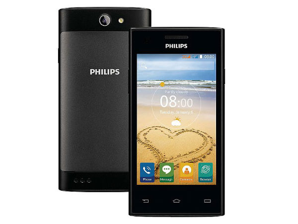 Philips Just Launched a new smartphone: Xenium S309