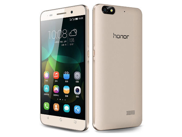 Huawei Honor 4C Gold Variant Buy at Price of Rs. 9499