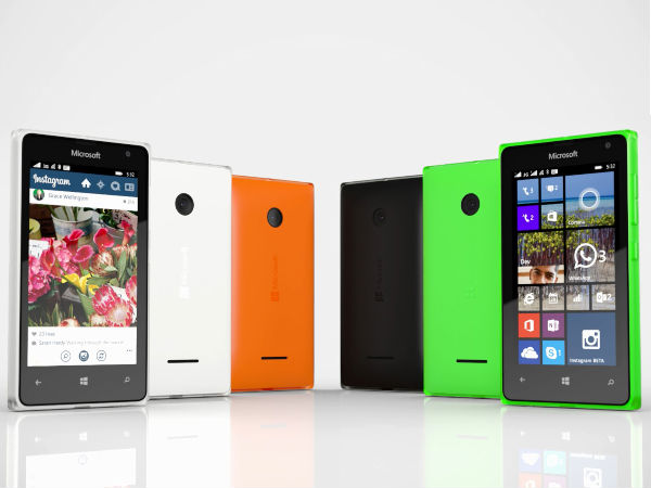 Microsoft Lumia 550 with 4.7 inch display and SD210 Coming On Soon