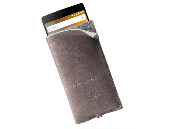 OnePlus launched Hard Graft Wild Phone Leather Case for the OnePlus 2