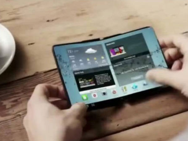 Samsung foldable display smartphone reported to launch early next year