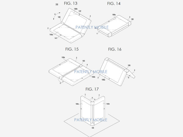 Patents Foldable Device