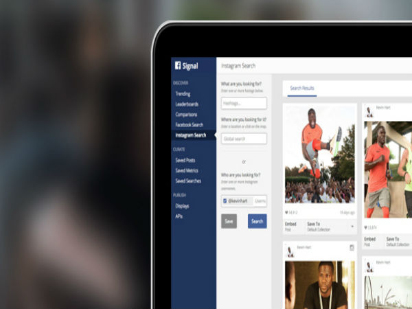 Discover newsworthy content on Facebook and Instagram