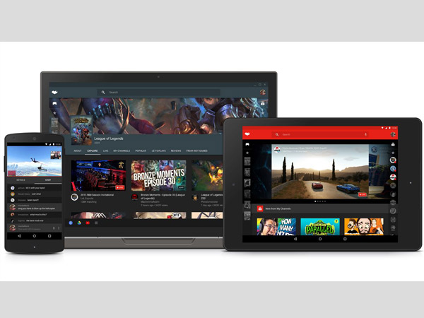 YouTube expands live streaming support to Android Games