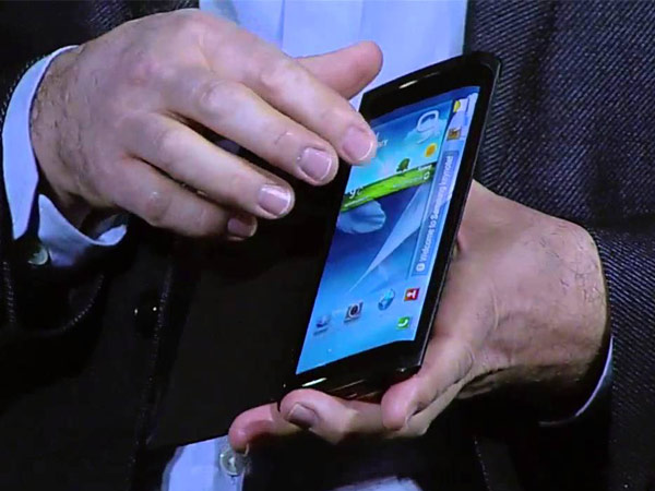 The codenamed for the Samsung foldable smartphone is Project Valley.