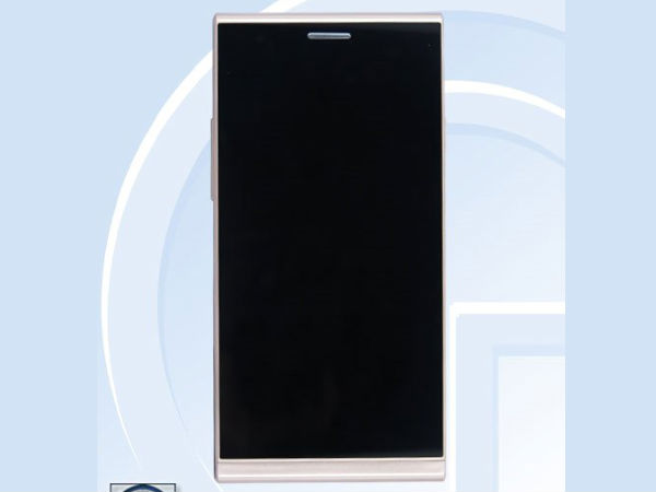 ZTE metal unibody smartphone without rear camera spotted at TENAA