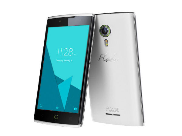 Alcatel OneTouch Flash 2 Launched, Sports 5-inch Display, 13MP Camera