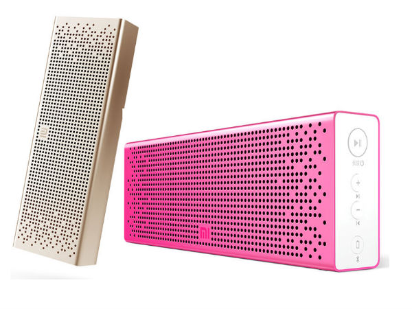 Xiaomi Launched Mi Bluetooth Speaker with BLuetooth Feature