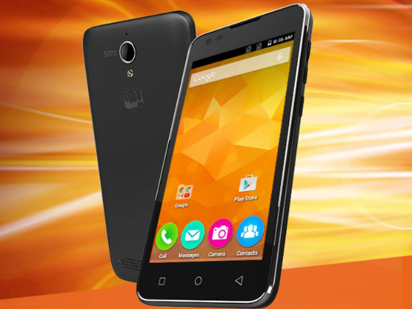 Micromax Canvas Blade 4G with Snapdragon 210 spotted on the website