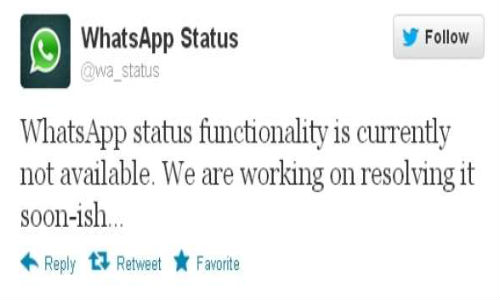Whatsapp Promises to Fix Hoax Error Message Soon