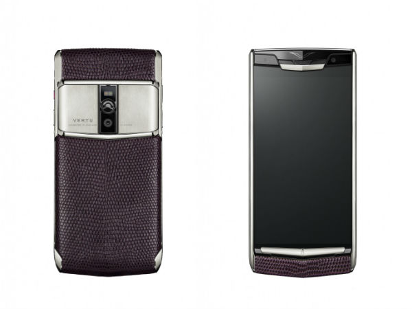 Vertu New Signature Touch phone combines luxury with higher end specs