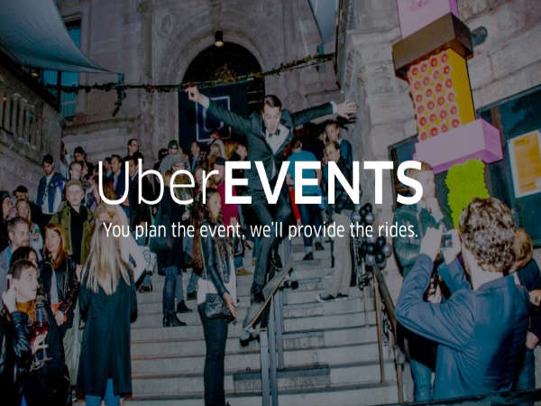 UberEVENTS now allows hassle free commute for guests attending an even