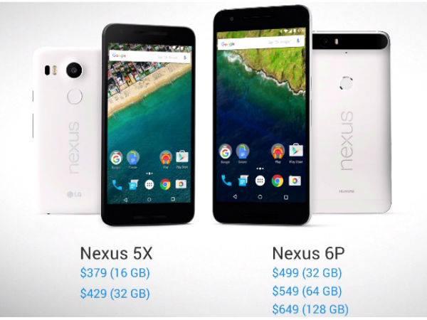 Google Unveils Nexus 5X: Features 5.2