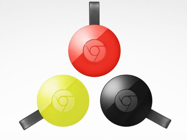 Google Announces Faster, Colorful Chromecast 2 And Chromecast Audio