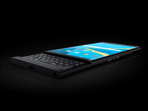 Blackberry Unveiled Official Photos of Android Powered Priv Smartphone