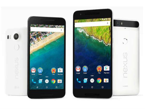Google Nexus 5X vs Nexus 6P: The Major Differences You Should Know