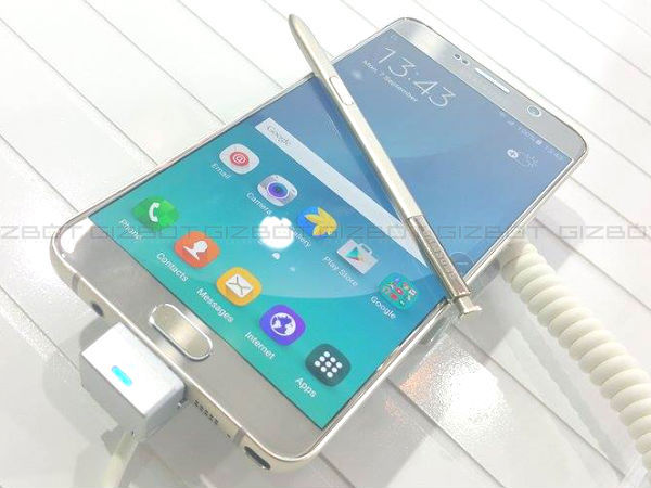 Samsung Galaxy Note 5 launched in India starting at Rs 53,990