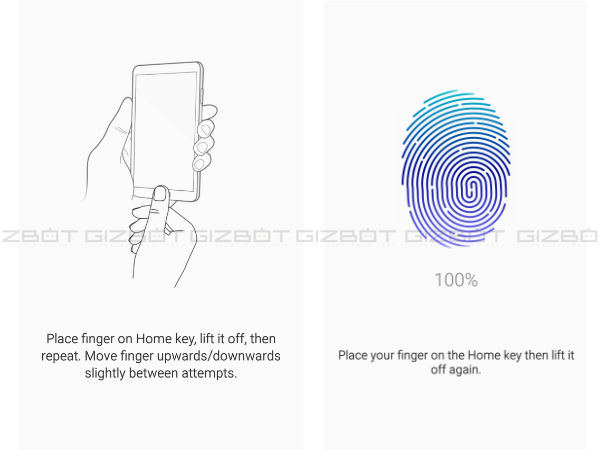 Fingerprint Settings