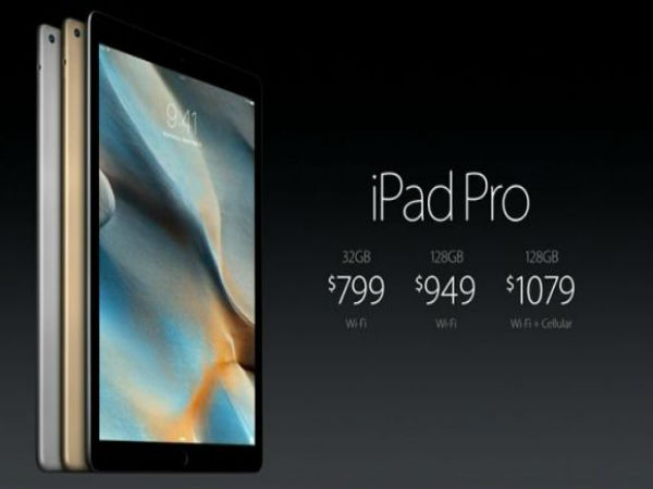New gen iPads, and iPad Pro