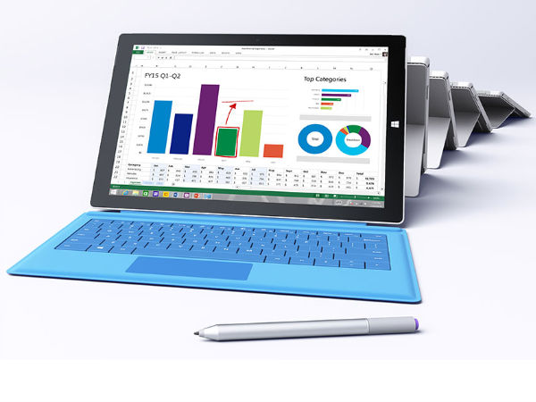 Microsoft Surface Pro 4 to Launch in 2 Variants on Oct 6 [REPORT]