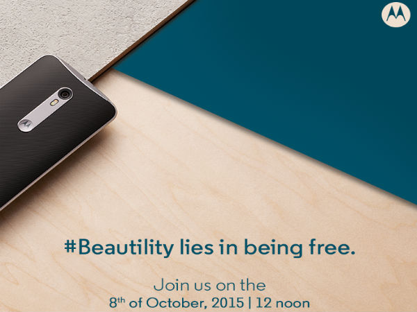 Motorola Moto X Style launch date confirmed, coming on Oct 8