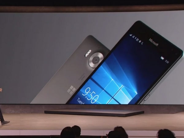 Microsoft Announces Lumia 950 and 950 XL with USB Type-C, 20MP Camera