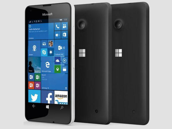 Microsoft Just Unveiled A Budget Windows 10 Smartphone with 4G Support