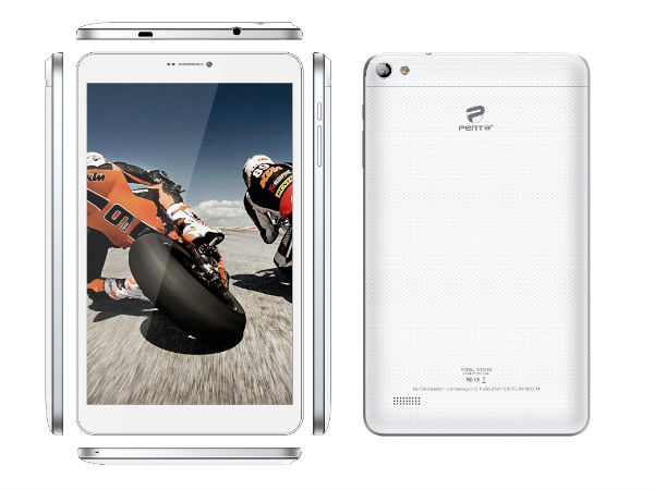 Pantel Unveils Penta 3G Tablet with 8-inch Display, 8MP Camera